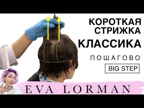 Женские стрижки на короткие волосы видео уроки для начинающих классическая