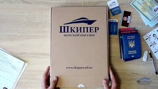 Обзор папки для морских документов Profi от компании Шкипер