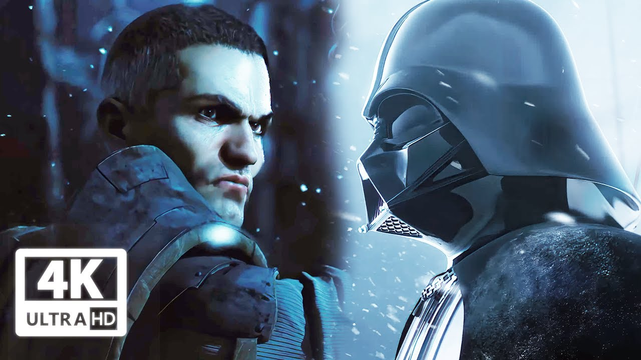 The Darth Vader and Starkiller Story In 16 Minutes (Cinematic Scenes) 4k UHD