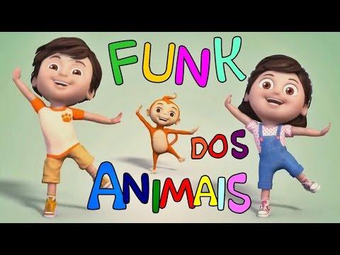 MÚSICA INFANTIL - FUNK DOS ANIMAIS / SONS DOS ANIMAIS   TURMA KIDS E CIA thumbnail