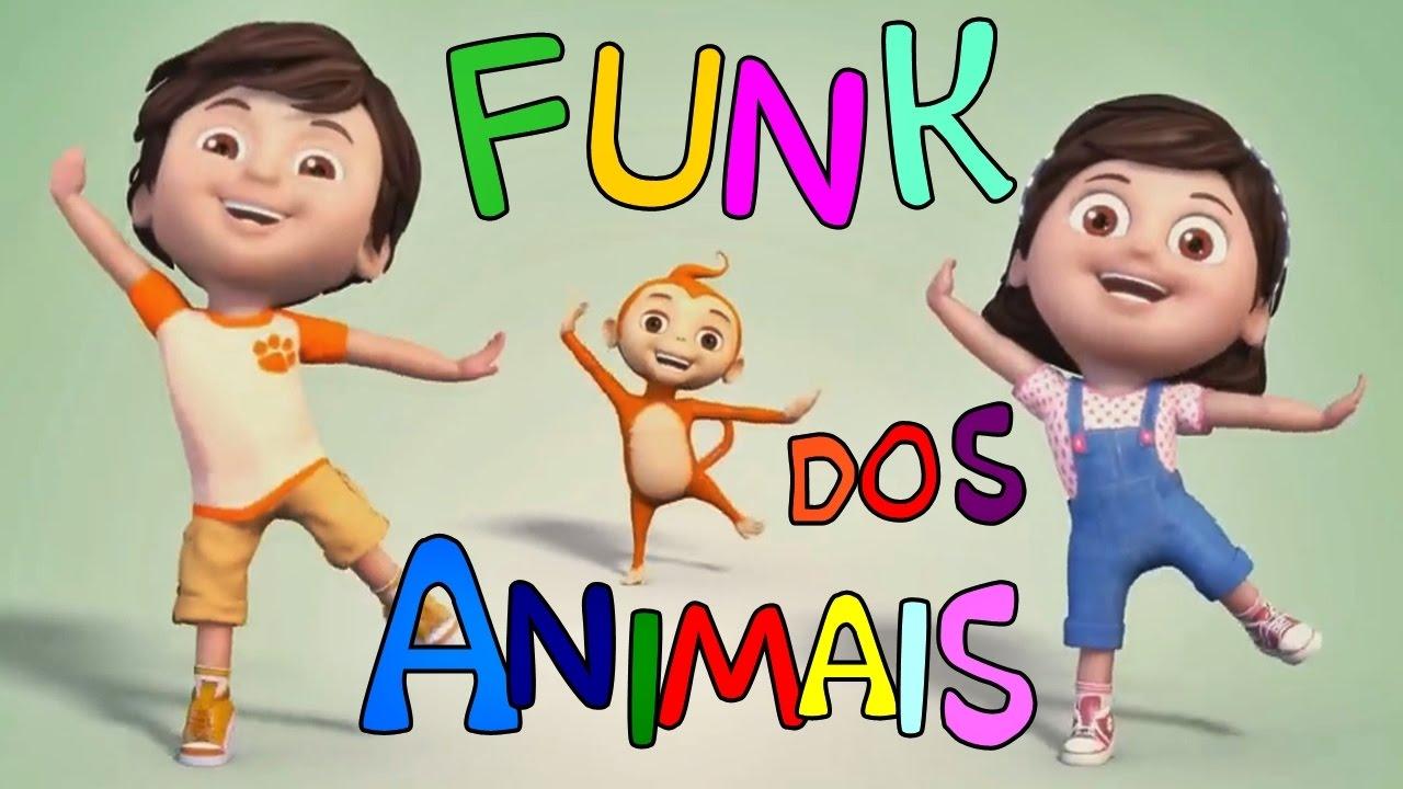 FUNK DOS ANIMAIS ???? Turma Kids e Cia (Música Infantil)