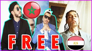 ردة فعل مغاربة على اغنية MARWAN PABLO x MOLOTOF FREE (Official_Music_Video) مروان بابلو و مولوتوف
