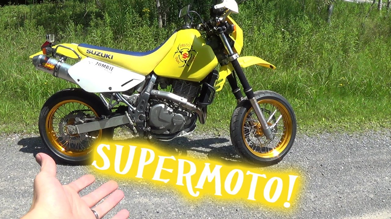 2006 Suzuki Dr650 Supermoto Walk Around
