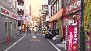 Japan Trip 2014 Tokyo Cycling, Shinjuku Kabukichō Sakura-dōri