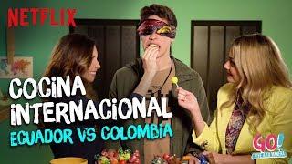 Go! Vive a tu manera - Cocina Internacional Ecuador vs Colombia