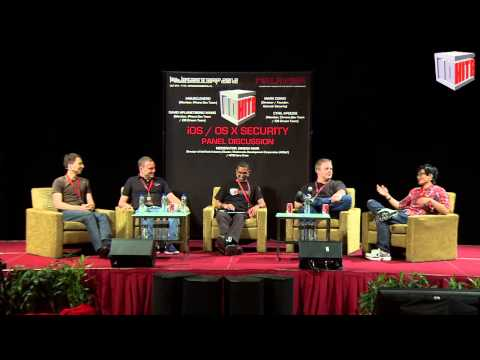 #HITB2012KUL D2 PANEL DISCUSSION: iOS / OS X Security