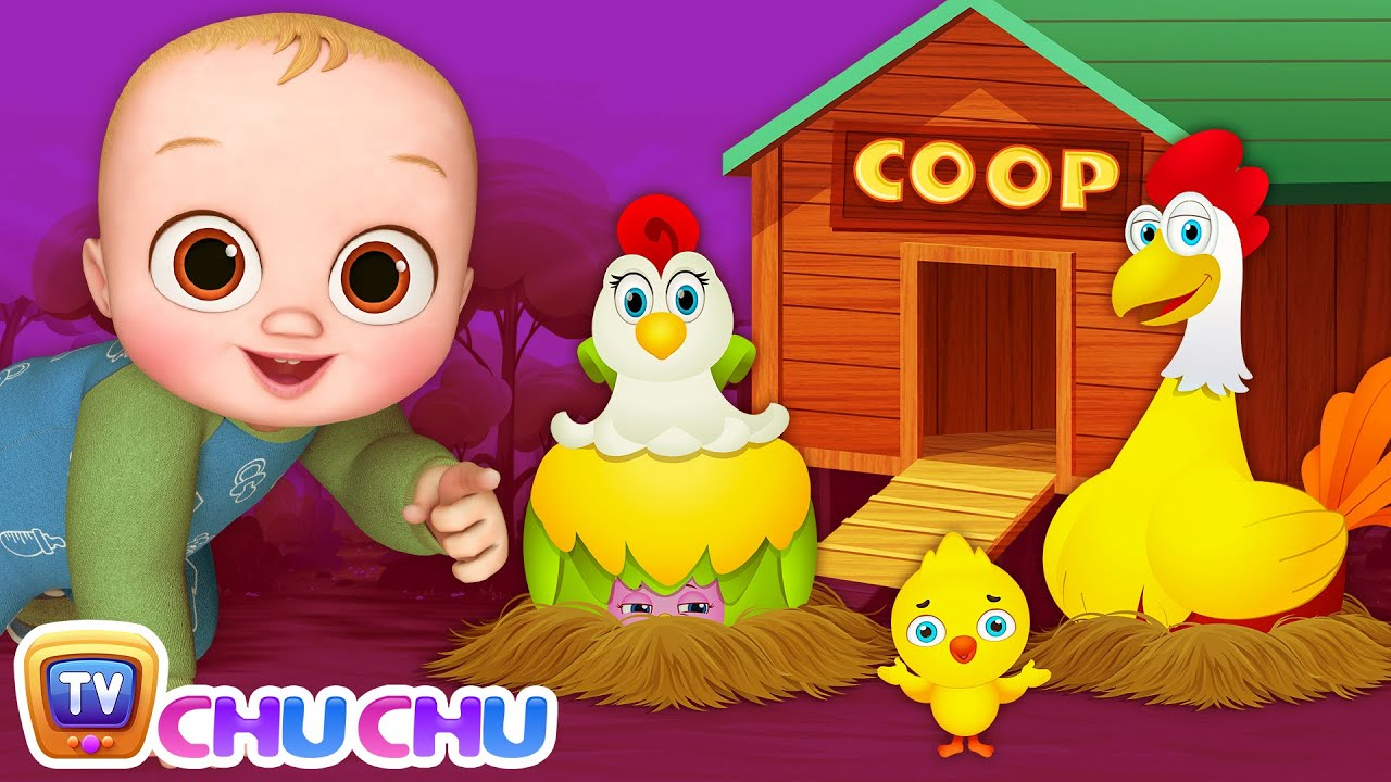 Animal Homes Song - ChuChu TV Nursery Rhymes & Kids Songs