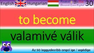 Az 50 leggyakoribb angol ige / segédige / angol igék, english verbs, english verb / angol tanulás