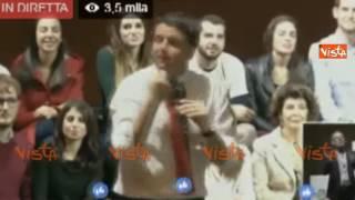RENZI: CON I FONDI DEL SENATO M5S PAGA L'AFFITTO A ROCCO CASALINO DEL GRANDE FRATELLO
