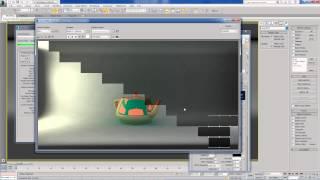 3. Урок материал VrayMtl (diffuse и reflection, базовый цвет и отражения)