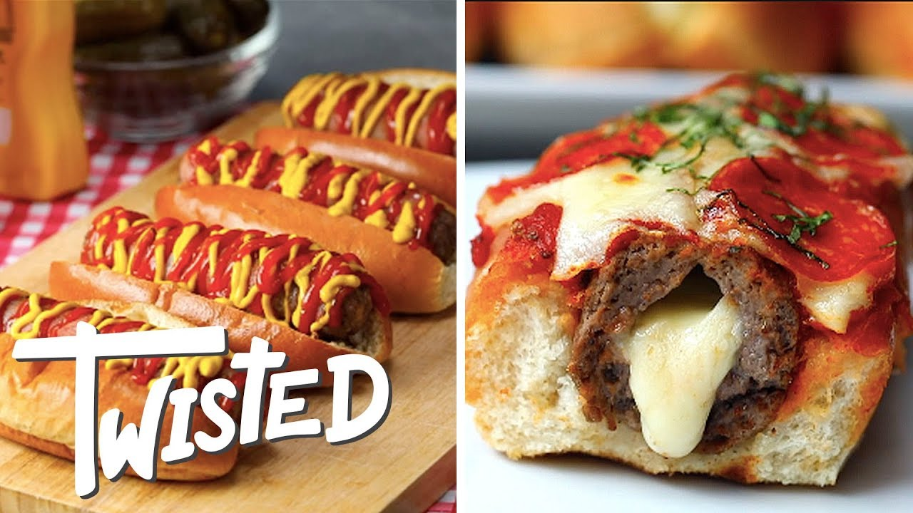 5 Twisted Burger Dogs