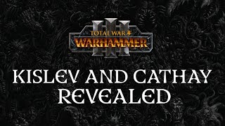 Designing Kislev and Cathay for Total War: Warhammer III