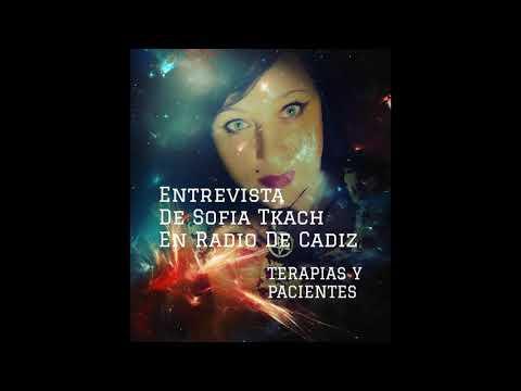 Sofia Tkach en radio de Cadiz, sobre terapias y pacientes