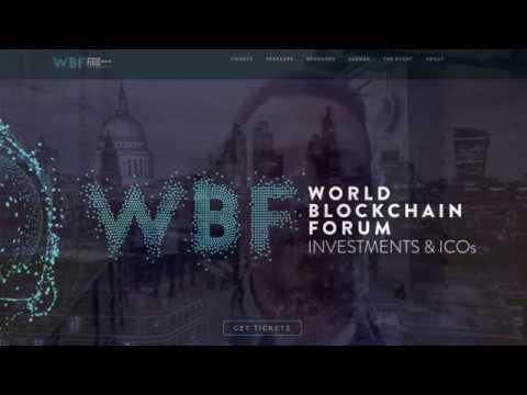 Blockchain World Forum: Fai Trading sulle Criptovalute? Non dimenticare mai che sono Tecnologia