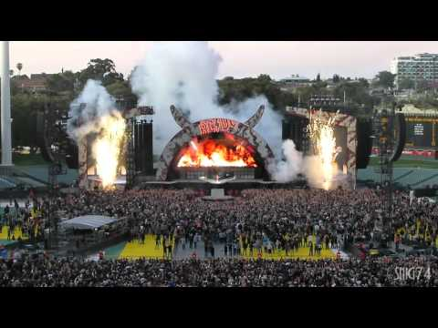 AC/DC LIVE at Adelaide Oval 1, Intro & Rock or Bust [HD] 21/11/2015
