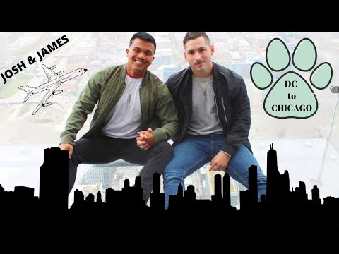 Gay Couple's Vacation To Chicago!