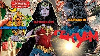 Гекуем #84 - Batman #39, Damage #1, Avengers #676 и пр.