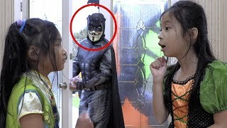 Pretend Play Halloween Trick or Treat Tricky Thief