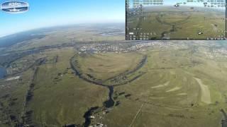 Полет на 14 км, БПЛА Х8 skywalker(, 2016-08-29T09:02:16.000Z)