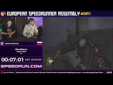 #ESA17 Speedruns - BloodRayne [Any% Hard] by Tezur0