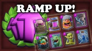 Winning Ramp Up Challenge | Clash Royale