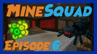 Minecraft MineSquad Server :: Double Cave Spider XP Farm Tutorial Episode 6