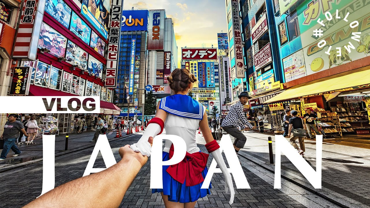 #FollowMeTo Japan VLOG