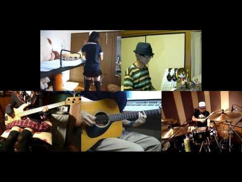 [HD]Tamayura ~More Aggressive~ ED [Arigatou] Band cover