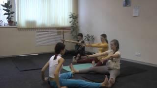 Занятие по йоге для беременных