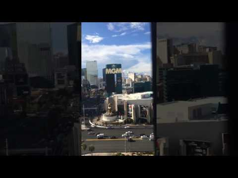 Amazing View From Room at Tropicana in Las Vegas, Nevada