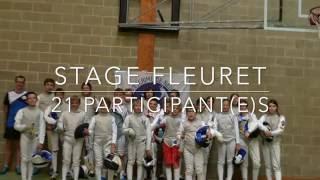 Stage perfectionnement Fleuret Neufchâteau