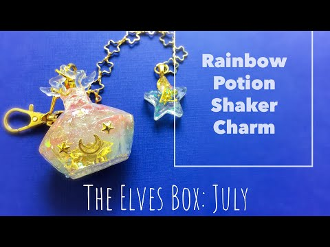Rainbow Potion Shaker Charm: July's Elves Box 2018