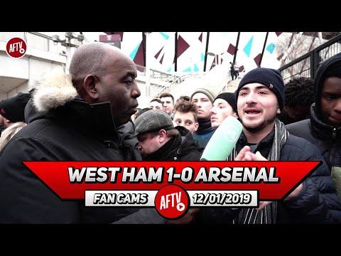 West Ham 1-0 Arsenal   The Players Gave Up!! (Australian Fan)