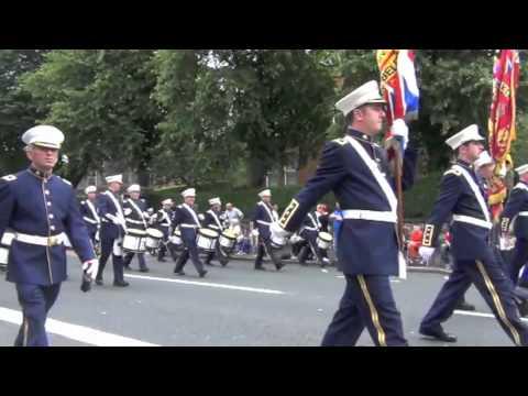 Belfast 12th July Parade 2012