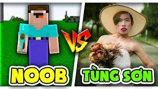 Troll NOOb Bằng TÙNG SƠN Trong Minecraft!!