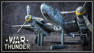 The New Bf 110 is a CAS Monster - War Thunder 1.79