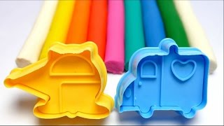 Play-Doh DIY Creative Kids - English Colors Learning Kids