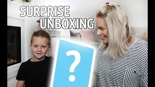 SURPRISE UNBOXING FOR VINNY | THE BEST CHRISTMAS PRESENT IDEA FOR 3 YEAR OLDS + | LIZA PRIDEAUX AD