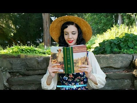 "READING ""MAGIC"" IN THE SECRET GARDEN 