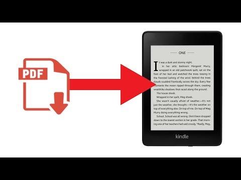 Comment Lire Un PDF Sur KINDLE ?