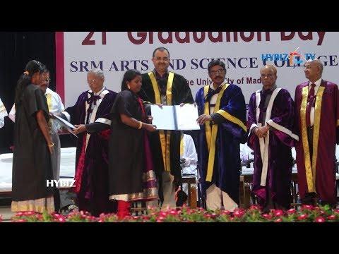 SRM ARTS & SCIENCE COLLEGE 21st Graduation Day In Chennai