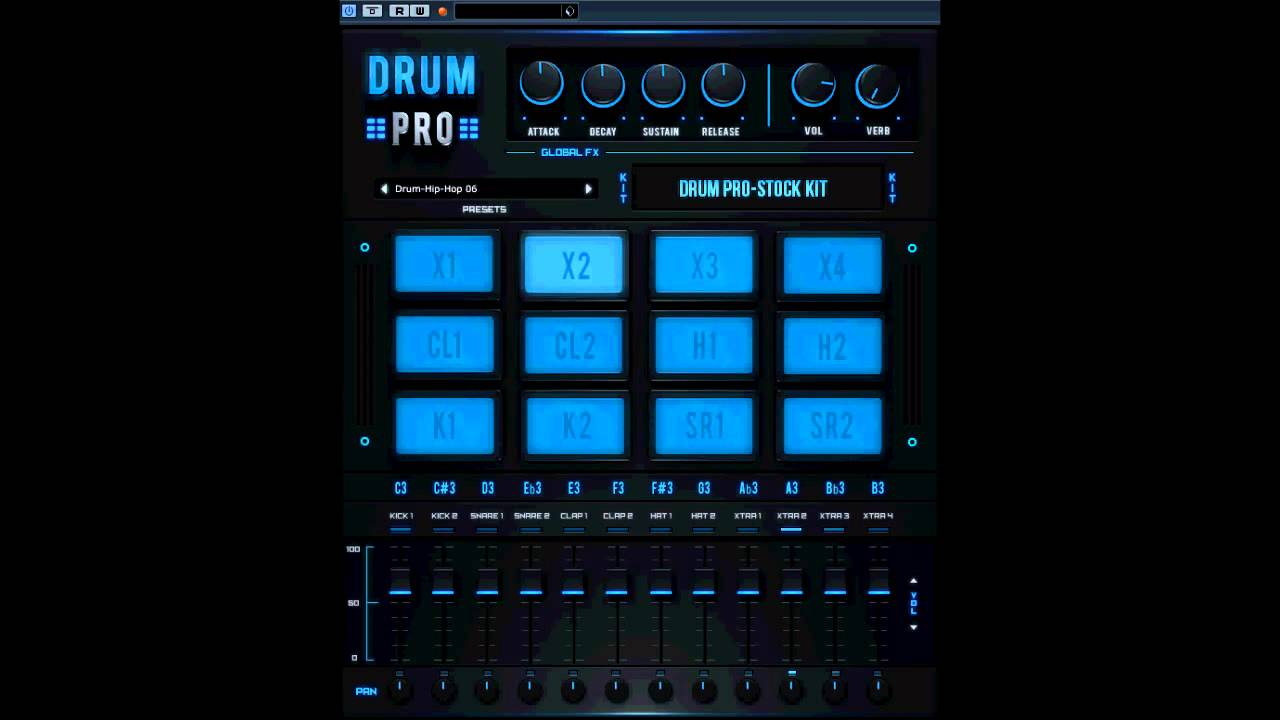 Free Drum Machine Vst : free vst drum pro drum machine youtube ~ Hamham.info Haus und Dekorationen