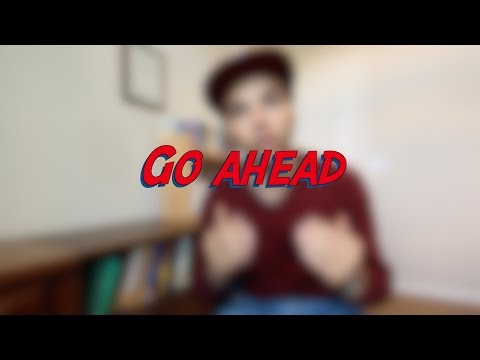 Go ahead - W8D4 - Daily Phrasal Verbs - Learn English online free video lessons