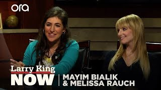 "Mayim Bialik and Melissa Rauch of The Big Bang Theory on ""Larry King Now"" - Full Episode"