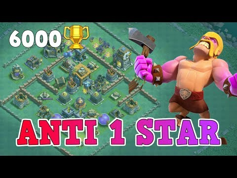 COC Builder Hall 7 (BH7) Base Design ANTI MAX TROOP | Anti All &  2 & 1 Star | Clash of Clans