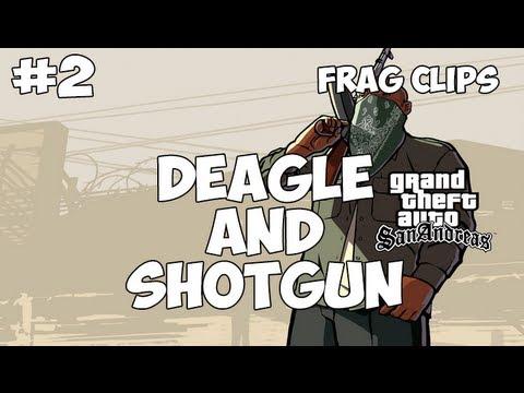 SA:MP: Frag Clips #02 - Deagle and Shotgun
