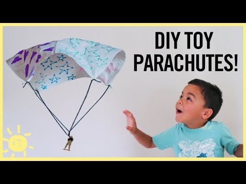 PLAY | DIY Toy Parachute Using a NAPKIN!