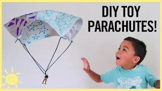 PLAY | DIY Toy Parachute Using a NAPKIN!
