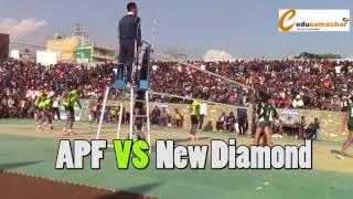 APF VS New Diamond Final Game at Pokhara(महिला भलिबल यस्तो पो हुनुपर्छ)
