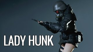 Lady Hunk Resident Evil 2 Mod By Blabit By Fluffyquack
